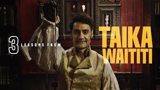 3 Lessons from Taika Waititi