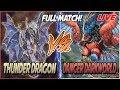 YuGiOh Live Duel: Thunder Dragon vs Danger Darkworld!  Battle of the Tier 1 Decks!  [October 2018]