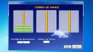 Torres de Hanoi en C#