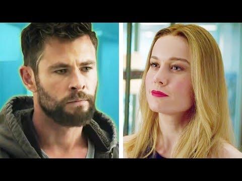 EndGame Fragmanında Thor ve Captain Marvel Hakkında Fark Etmediğiniz Detaylar