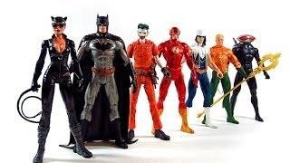 DC Comics New 52 Superheroes vs Super-Villains 7 pack boxset Review