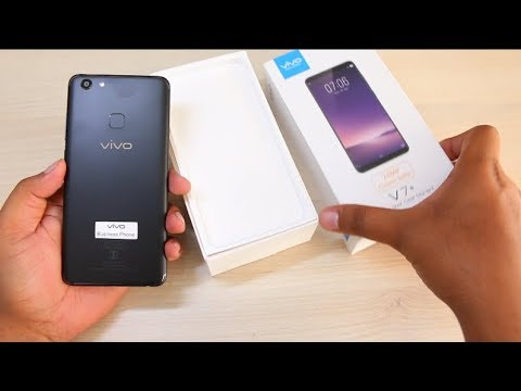 Vivo V7 Plus Unboxing, hands on, Camera, features | Hindi, Best Selfie Smartphone?