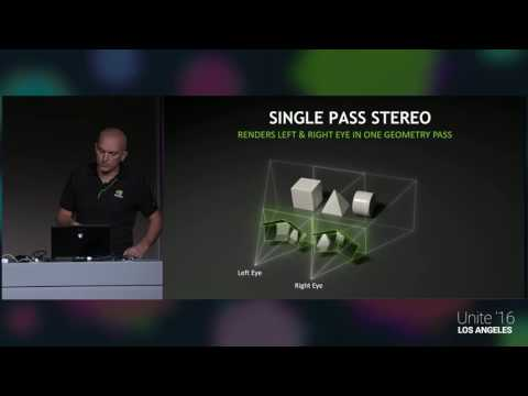 Unite 2016 - Accelerating Your Applications with NVIDIA VRWorks