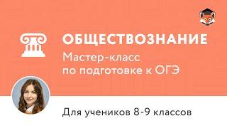 ОГЭ по обществознанию-2016. Мастер-класс