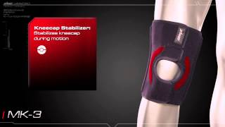 Knee Brace for MCL / LCL / Patella Tracking Support: Zamst MK-3