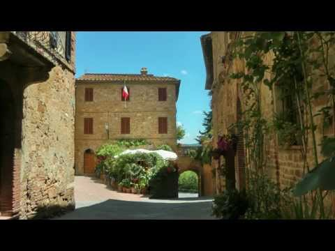 ITALY Pienza, Tuscany (HD-video)