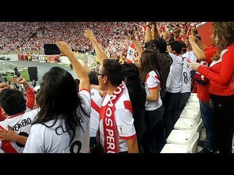 Estadio Nacional retumbó así con la clasificación