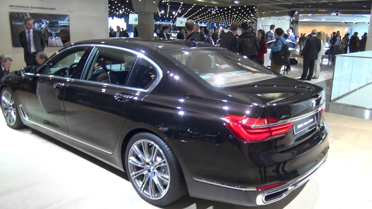 2015 Bmw 750li >> [4k] G11 Almandine Brown BMW 750Li Individual at Frankfurt 2015 IAA - YouTube