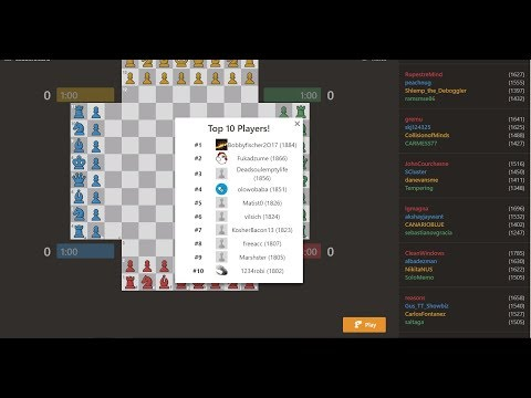 4-Player chess #11 First gameplay at 1700+!