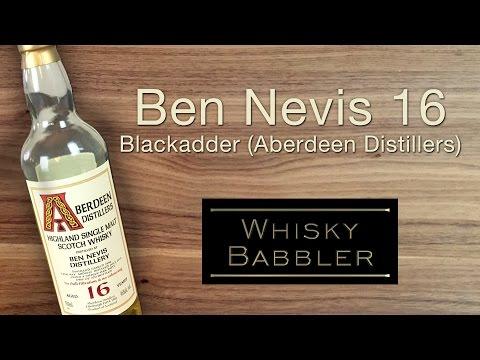 Ben Nevis 16 Blackadder Aberdeen Distillers