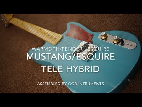 Warmoth MUSTQUIRE TELECASTER ESQUIRE MUSTANG HYBRID