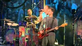 COLDPLAY - LOST Live in Madrid Oct. 2011.