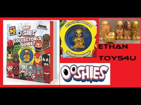 dc comics ooshies collectors guide