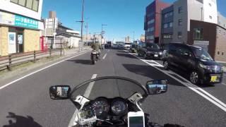 【HD】富里IC~成田山新勝寺 新春安全祈願ツーリング!裏道を通ります!