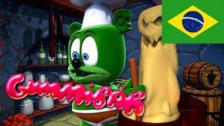Download DANÇA DOS MONSTROS - Monster Mash Brazilian Version - Gummibär (Ursinho Gummy) Mp3 and Videos