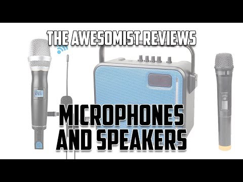 Review: Maono PA (Karaoke Speaker), Wireless Mic and Lapel Mics!