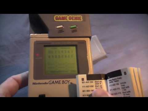 <b>game genie</b> for the gameboy - YouTube