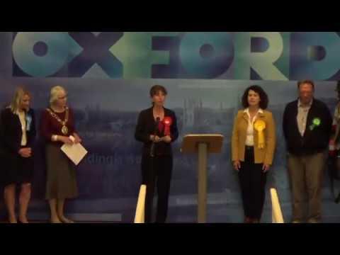 Oxford East - General Election Declaration