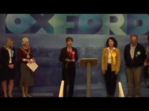 Oxford East - General Election Declaration