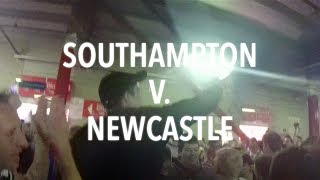 I WAS THERE Southampton v Newcastle 29 March 2014