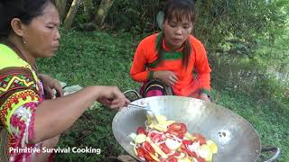 Natural life - Freaky Eaters - Yummy cooking fish with fruit vegetable recipe - cooking skill