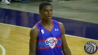 ucla commit aaron holiday is nice 2014 nbpa top 100 camp jrue holiday s brother