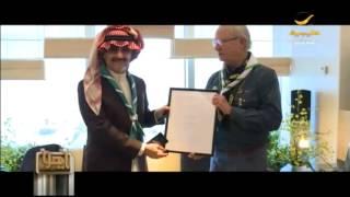 الأمير الوليد بن طلال يستقبل ملك السويد لتناول عدد من المواضيع الإجتماعية الإنسانية