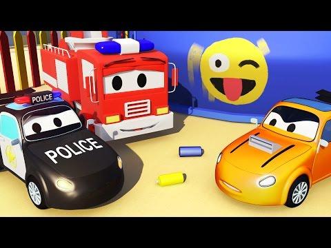 Patrula masinilor : Masina de politie si Tyler este acuzat în Orasul Masinilor | Desene pentri copii