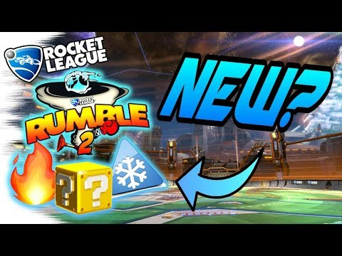 Rocket League RUMBLE v2?! - New Power Up & New Map Ideas! (Battle Mode Update for PS4, PC, Switch?)
