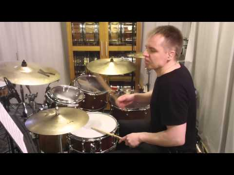 Chaka Khan - What Cha' Gonna Do For Me (Drum cover) by Kai Jokiaho w/chart