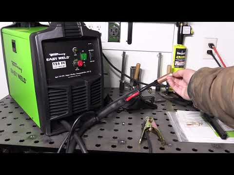 Forney Easy Weld 125FC Review and Performance Testing