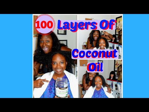 100 Layers Of Coconut Oil | Challenge