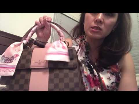 7b48519940a Louis Vuitton Bond Street Damier Ebene Magnoli Review and what's in my bag  WIMB