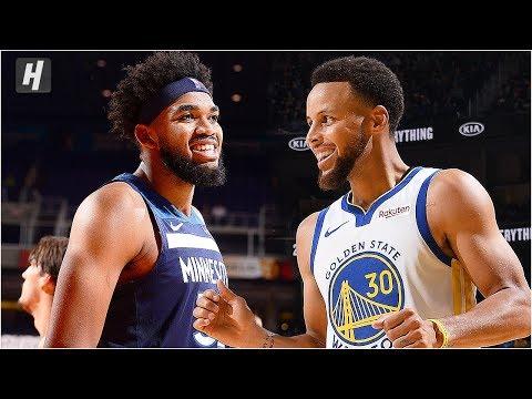 Minnesota Timberwolves vs Golden State Warriors - Full Game Highlights | October 10, 2019 Preseason