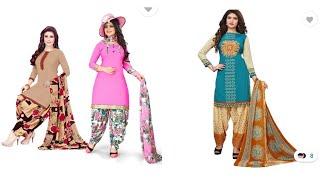 Daliy wear simple cotton Salwa…
