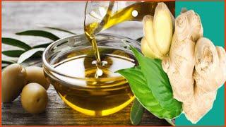 mélange le gingembre et l'huile d'olive tu ne croiras pas ce que ce mélange provoque