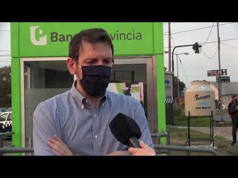 Nuevos cajeros del Banco Provincia en Barrio Libertador