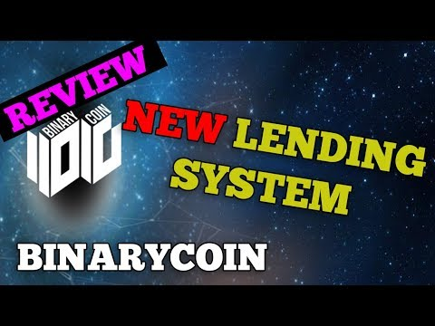 INVEST BINARYCOIN ICO - CRYPTO LENDING SYSTEM