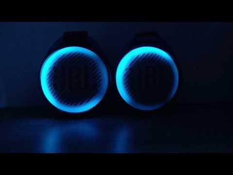 2 JBL Jr Pop Light Test