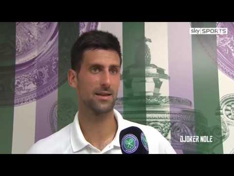 Novak Djokovic 'I feel better how the days go by'   Wimbledon 2017 HD720p