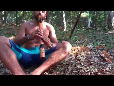 Native American Flute High Spirits Condor Bass D Olympos