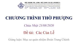 HTTL KINGSGROVE (Úc Châu) - Chương trình thờ phượng Chúa - 23/08/2020