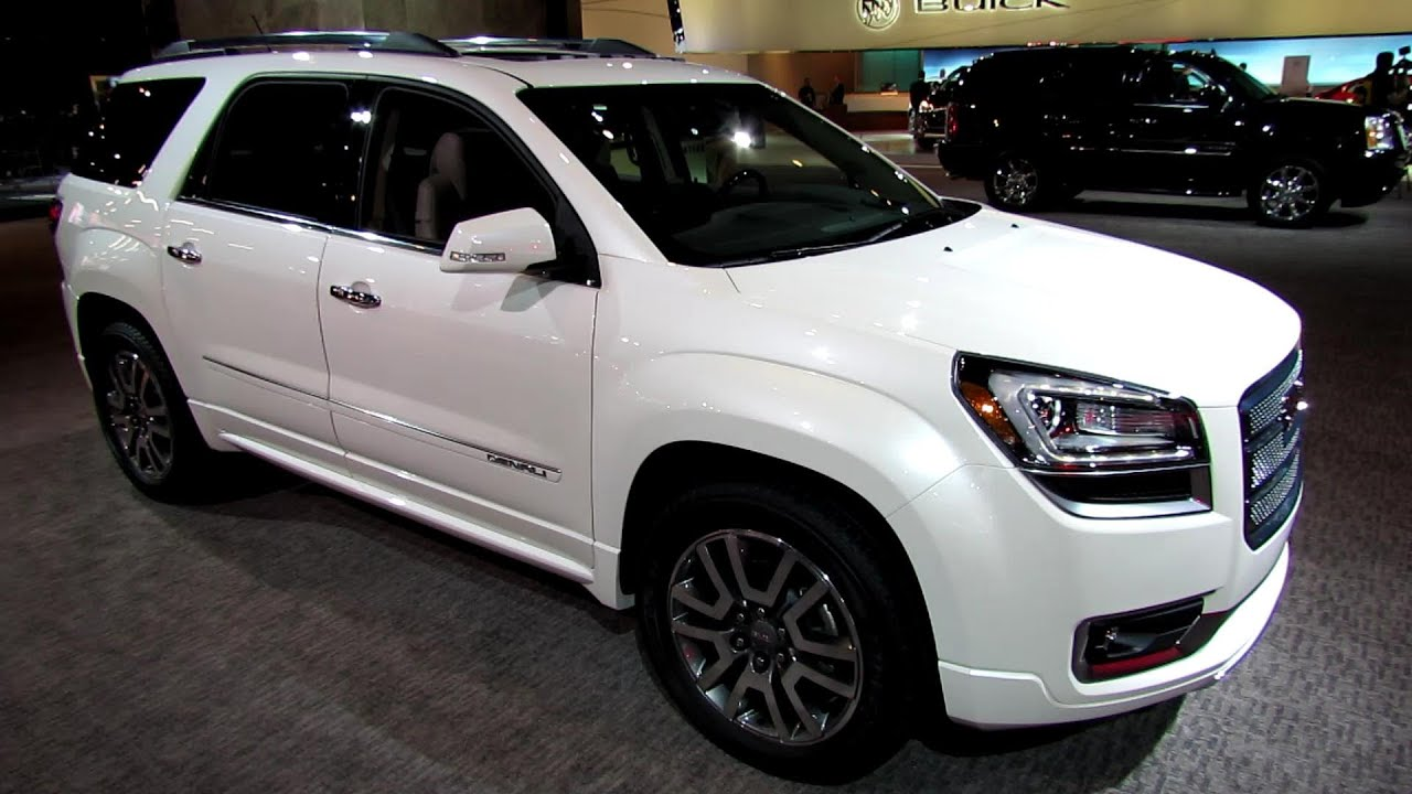 2013 GMC Acadia Denali - Exterior and Interior Walkaround ...