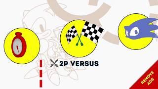 Sonic The Hedgehog 2 Classic   2P versus