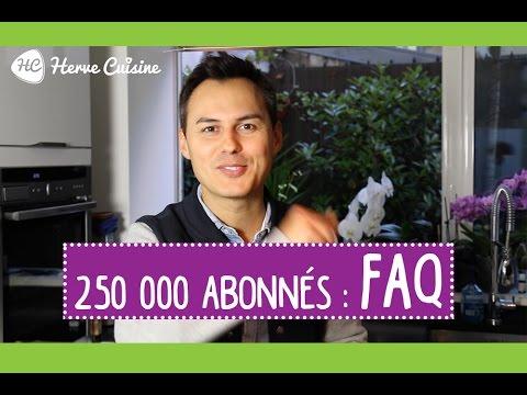 faq-hervé-cuisine-250-000-abonnés