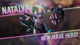 Strike of Kings: NEW MAGE HERO!! Natalya [MA MID] Gameplay