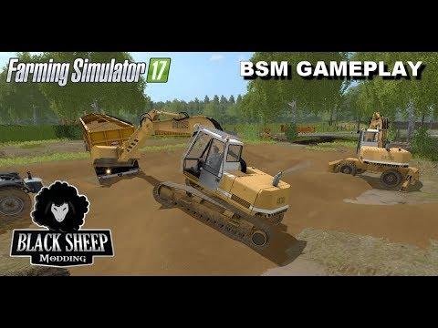 FS17| GAMEPLAY BSM| Go Construction site  2