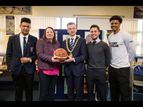 Lord Mayor announces Belfast City Council's support for Sport Changes Life Programme