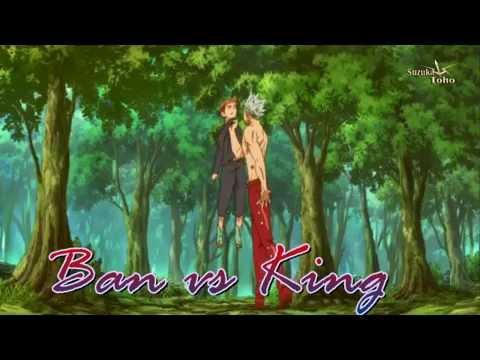Ban VS King - Nanatsu no taizai (Angel with a shotgun)