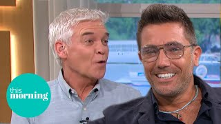 Gino Offers To Teach Kissing To Phillip & Holly In Cheeky Studio Return | This Morning